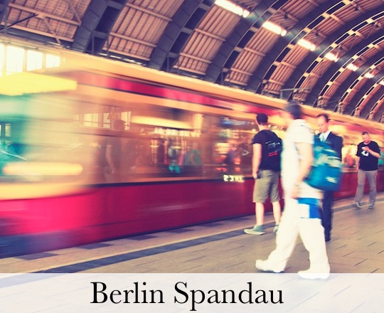 Bahnhof Gesangsunterricht Berlin Spandau