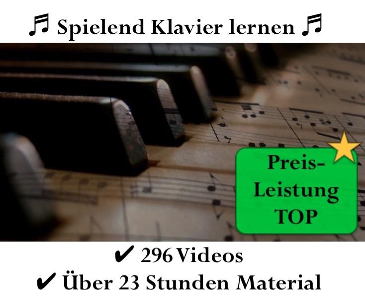 Klavierkurs Werbung - beliebt und Preis-leistungs Sieger